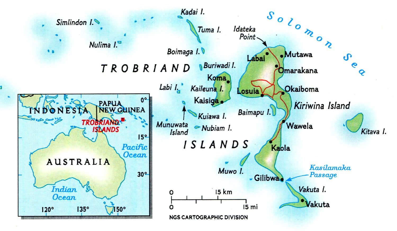 Trobriand Islands DEP